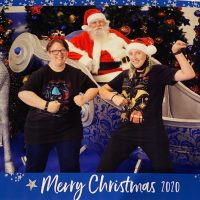 Annita Tumino and Katie Sinnott, Christmas 2020